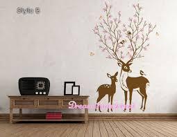 Deer Wall Decals Deer Decal Nursery Wall Decal By Dreamkidsdecal Deer Wall Decal Deer Decal Nursery Wall Decals