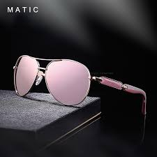 pink color mirrored driving pilot