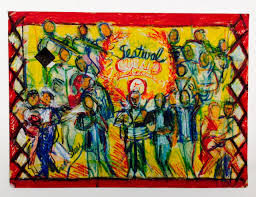 Festival Cubano Giclee Print By Sheri Smith | absolutearts.com