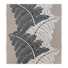 STOCKHOLM fabric - ferns / gray / beige (20228993) - reviews, price  comparisons