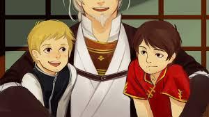 Erraday - Ninjago. Young Garmadon and Wu with their father. | Lego ninjago,  Ninjago kai, Ninjago