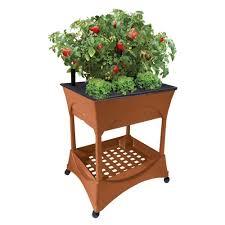 easy pickers plastic raised garden