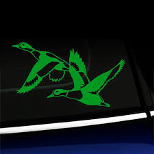 Flying Ducks Vinyl Car Decal Choose Color Yellow Green Walmart Com Walmart Com