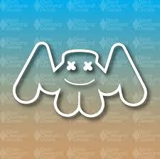 Marshmello Music Dj Techno Dubstep Edm 4 Tall Custom Vinyl Decal Dubstep Custom Vinyl Decal Dj Techno