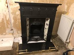cast iron fireplace in portslade
