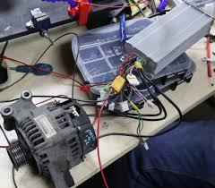 alternators make great electric motors