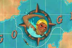 Google Doodle Celebrates Indian Olympic Swimmer Arati Saha on Her 80th  Birth Anniversary | Sports News