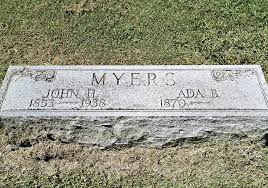 Ada Bowles Myers (1870-1955) - Find A Grave Memorial