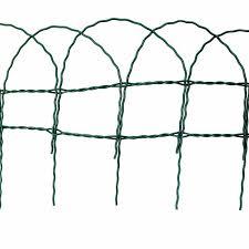 fence lawn edging garden border 10m
