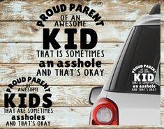 Kids Up In This Bitch Decals