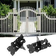 Lhcer Garden Accessories 2pcs Stainless Steel Fence Gate Hinge Garden Door Hinges Garden Hardware Accessories Door Hinge Walmart Canada