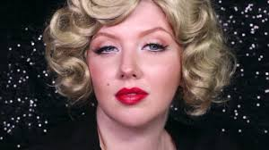 authentic makeup tutorial of marilyn
