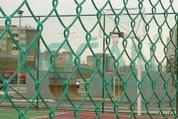 Pvc Coated Chain Link Fencing Mesh At Rs 20 Square Feet Pvc Coated Chain Link Mesh Fence Id 13142227748