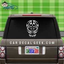 Freaky Tribal Skull Vinyl Car Window Decal Sticker Skull Decals