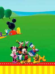 Mickey Mouse Playhouse Free Party Printables Right Click And