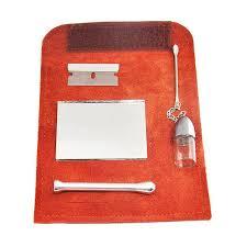 Jual Bluelans Set Portable Bottle Spoon Mirror Blade Snuff Kit ...