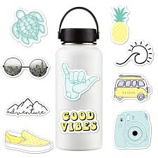 New 10pcs Pack Vinyl Stickers Girl Essential Stuff For Water Bottles Stickers Suitable For Photo Luggage Laptop Trendy Stickers Water Bottle Cup Accessories Aliexpress