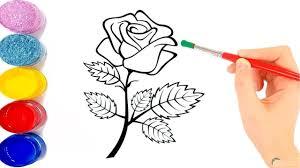 صور ورد مرسوم بالرصاص وخطوات تعليم رسم الورد بطريقة احترافية