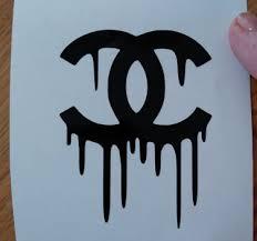 Dripping Chanel Vinyl Decal Sticker