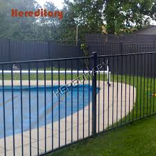 China Wholesale Metal Fence Aluminum Black Privacy Garden Fence Photos Pictures Made In China Com