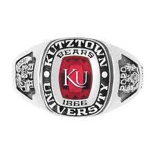 Kutztown University Lady Legend Ring