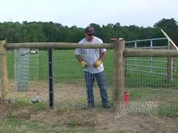 Horse Fence Installation Part 2 Of 2 Youtube Horse Fencing Pasture Fencing Fence