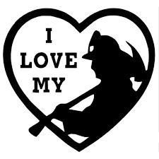 12 7cm 12 4cm I Love My Firefighter Decal Reflective Car Styling Sticker Motorcycle Car Decal Accessories Black Sliver C8 1035 Car Decal Car Styling Stickerssticker Motorcycle Aliexpress