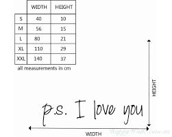Ps I Love You Quotes Wall Art Stickers
