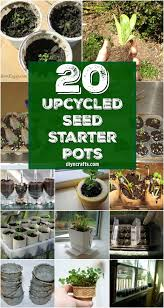 20 upcycled seed starter pots you can