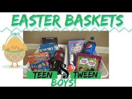 easter basket ideas for and tween