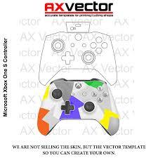 Xbox One Controller Vector Template