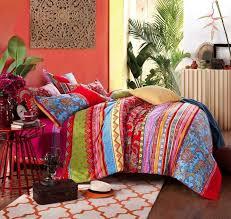 bohemian ethnic style bedding chic boho