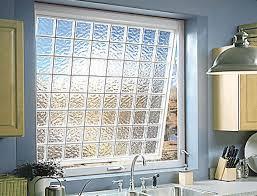 decorate glass block windows