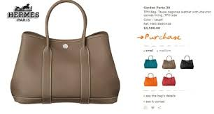 hermes garden party taupe r5records