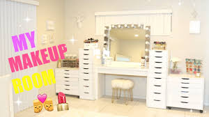 my new makeup room you