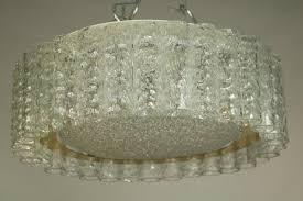 vintage glass flush mount ceiling