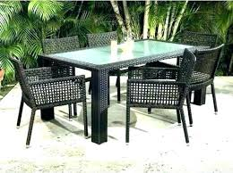 42 round white patio table with glass