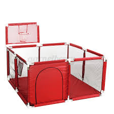 Meco Baby Playpen Fence Folding Safety Barrier Children Playpen Game Tent 128cm Usa