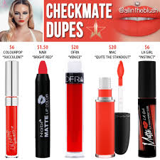 checkmate velour liquid lipstick dupes