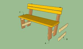 wooden garden bench plans to build pdf
