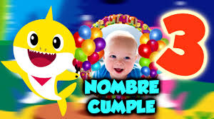 Baby Shark Video Invitacion De Cumpleanos Dv Diseno Visual