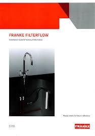 franke filterflow manualzz