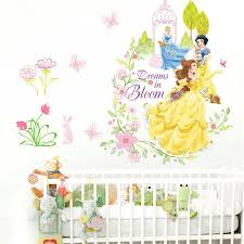 Cartoon Fairy Princess Wall Stickers For Children Kids Bedroom Wall Decal Art For Sale Online