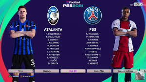 Atalanta vs PSG | eFootball PES 2021 Scoreboard for eFootball PES ...
