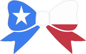 8in X 5in Texas Flag Bow Bumper Sticker Decal Window Stickers Car Decals Stickertalk
