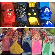 Diy Party Favors For Twins Superheroes And Princesses 4 Fiesta