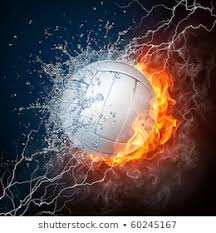 volleyball background images stock