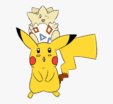 pikachu and togepi pokemon wallpaper