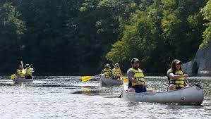 $5 canoe trip explores Canopus waters, area's history