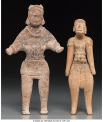A Huastec Figure and an Autlan Colima Figure... (Total: 2 Items) | Lot  #70554 | Heritage Auctions